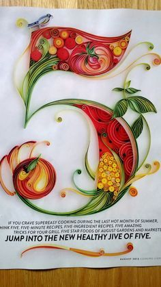 quilling numbers - Google Search