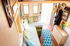 The Lucky Linden Tiny House-- table