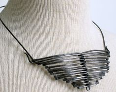Found Object Jewelry Ideas | ObjectsandElements.com: Come over to the Dark Side.....Creating with ...