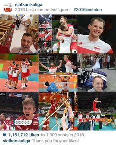 2⃣0⃣1⃣6⃣ to był naprawdę... No właśnie, jaki to był rok❓ PS. Dziękujemy, że byliście z nami przez ostatnie 12 miesięcy. 👏 #siatkowka #volleyball #best #sport #2016 #2016bestnine @iglaszyte @karolklos @jerzy_mielewski @bieniu_m @pawelzati