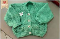 Foto e Execução: Blog-By-Day.blogspot.com   Receita: aqui .   Fio: Super Bebê   Agulha nº 3   Infelizmente meus casacos de bebê se...