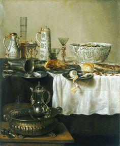 Willem Claesz Heda (1594 - 1680) Breakfast Still Life (1638) oil on canvas, 98 x 118 cm Hamburg, Hamburger Kunsthalle