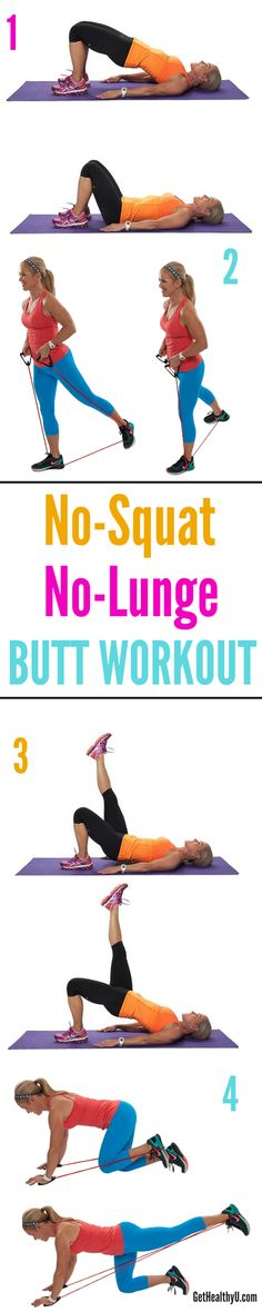 No Squat no lunge butt workout with Chris Freytag