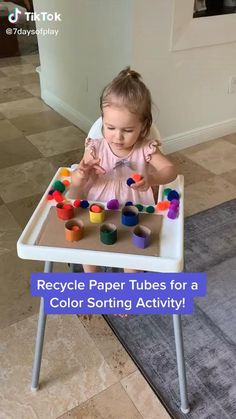 Baby Learning Activities, Activities For 1 Year Olds, Montessori Activities, Infant Activities, Color Activities For Toddlers, Montessori Toddler, Toddler Play, Outdoor Play Toddler, Outdoor Toddler Activities