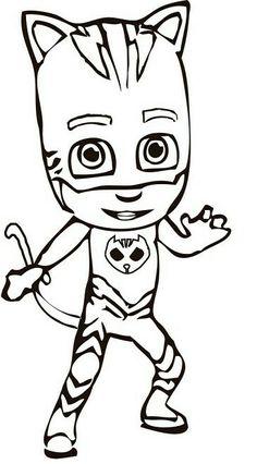 Las 14 Mejores Imágenes De Pjmasks Heroes En Pijamas Para