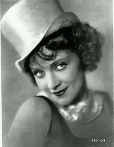 Marlene Dietrich - this may be from the Blue Angel