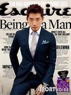 Esquire March 2011 cover