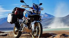 The Honda Africa Twin just got bolder with the Adventure Sports version