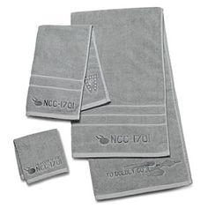 ThinkGeek :: Star Trek 3-Piece Bath Towel Set