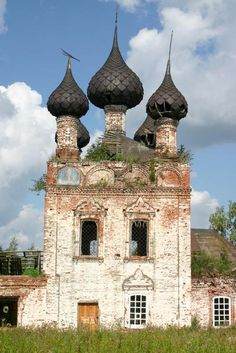 Forgotten in Grigorzewo, Russia. Forgive us, O Lord, do not know what we do...