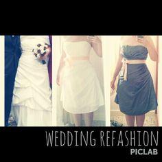Il mio abito da sposa refashionato