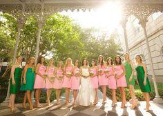 Bride and her girls!