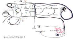 [CSDW_4250]   Speed Scene Wiring (speedscene) on Pinterest | T Bucket Wire Harness |  | Pinterest