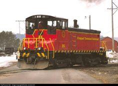 RailPictures.Net Photo: CTR 35 Cloquet Terminal Railroad EMD SW1000 at Cloquet, Minnesota by lester zmudzinski