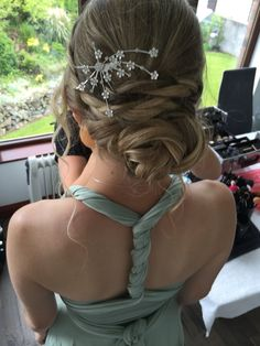 Bridesmaids upstyle created by me xx
