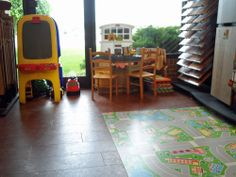 Our showroom even has a spot for your kids to play while you shop! We're located in Bloomfield Hills, MI on Telegraph north of Square Lake. #riemerfloors, #showroom, #kidsplay