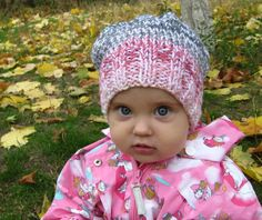 Ready to Ship Toddler Beanie Hat  Knitted Hat  by HatsByNataBilay