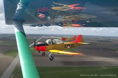 Fokker Air to air (c) Remco de Wit Airplane, Planes, Netherlands, Air Force, Dutch, Fighter Jets, The Past, Aircraft, Sky