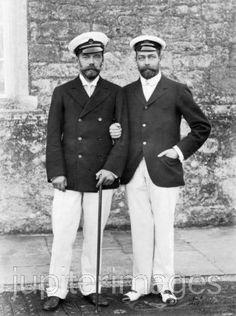 Bearded twins