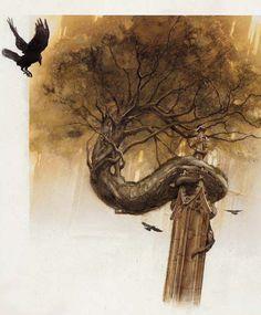 Illustration by John Howe
