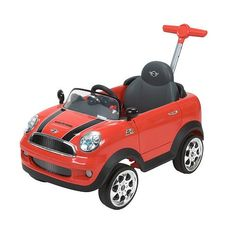 Huffy Mini Cooper Foot to Floor RideOn Red