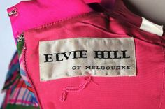 Elvie Hill label   by MAMA & LibraryMuseum