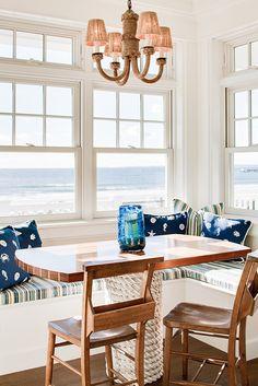 breakfast nook | Hurlbutt Designs