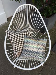 Missoni cushions - Season 2015 Acapulco chair
