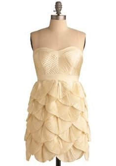 gorgeous scallop dress