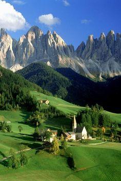 Santa Maddalena, Dolomites, Italy #visitingitaly #VisitingItaly