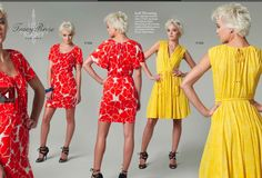 For spring/summer: Tracy Reese Vogue 1224 - dress on left