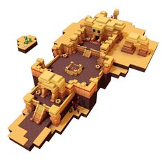 I wonder if I could build this in Minecraft? Minecraft Designs, Minecraft Blueprints, Minecraft Creations, Game Environment, Environment Concept Art, Bg Design, Game Design, Plantas Do Minecraft, Minecraft Cactus