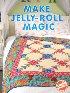 Use pre-cuts to create stunning quilts with ease! Enjoy a front row seat for hours of up-close instruction as you enjoy unlimited lifetime access to this fabulous online video class.