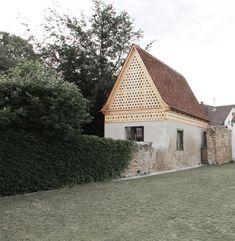 Vécsey Schmidt - Garden house, Buggingen 2013. Via, photos © Doris Lasch.