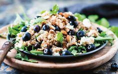 Salat med spelt & feta
