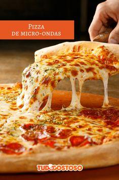 Aprenda a fazer uma massa mais fácil e deliciosa Pizza Recipes, Food Styling, Lasagna, Cheese, Meals, Ethnic Recipes, Kitchen, Quiches, Academia