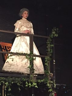 Watched my daughter play Miss Haversham in her final project at College last night; a proud moment.
