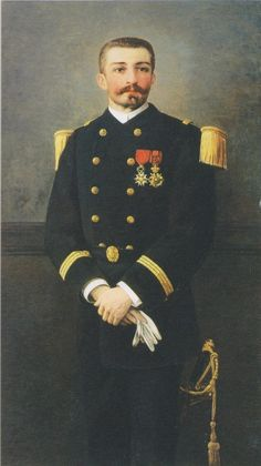 Pierre Loti, Lieutenant, French History, Marie, Artworks, Coat, Livres, Paint, Sewing Coat