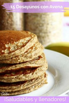 Whole Wheat Banana Pancake. Wheat banana pancakes are the small flat bread made with wheat flour and banana. Tasty and healthy for breakfast. Banana Nut Pancakes, Whole Wheat Pancakes, Oatmeal Pancakes, Coconut Pancakes, Healthy Soup Recipes, Healthy Cooking, Healthy Snacks, Cooking Tips, Pan Cooking