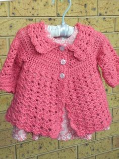 Stylish crochet baby girl sweater pattern little gerahttp www patternsforcrochet co uk free baby · crochet toddlercrochet girlsdress and cardigansweater patternsbaby fzbqgyp Crochet Baby Sweater Pattern, Crochet Baby Jacket, Crochet Baby Sweaters, Baby Sweater Patterns, Baby Girl Crochet, Crochet Baby Clothes, Baby Knitting, Crochet Patterns, Crochet Cardigan