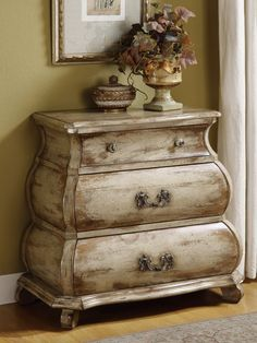 rustic accent piece~this would look so cute in my master bath to hold towels or extra tissue