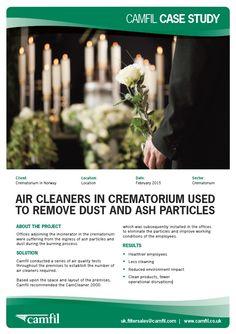 Crematorium air cleaners
