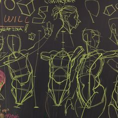 By Will Weston  More review boards from today's Inventive Drawing class at ArtCenter in Pasadena, CA.