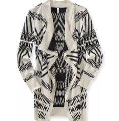 50c6c5d1a4 Aeropostale Black And White Aztec Print Cardigan Size XL  fashion  clothing   shoes