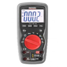 http://reidbrothers.co.uk/product-details/ridgid-meter-devices-digital-multi-meter-clamp-meter-humidity-meter/ridgid-micro-dm-100-digital-multimeter  Email: uksales@reidbrothers.co.uk Tele: 0141 425 1060  Ridgid Micro DM-100 Digital Multi-Meter (Drop and Waterproof) Benefits:  The Ridgid micro DM-100 digital multi-meter is the ideal compact piece of equipment for troubleshooting almost any electrical problem.