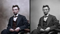A nice set of black and white famous and cults photographs of historical events and figures colorized! It contains the portrait of Charles Darwin, Mark Twain, Abraham Lincoln, Alfred Hitchcock,. Top Photos, Famous Photos, Iconic Photos, Famous Faces, Charles Darwin, White Picture, Black White Photos, Black And White Photography, Abraham Lincoln