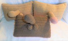 Circle Of Friends, Diy Crafts Crochet, Order Photos, Gag Gifts, Free Crochet, Crochet Patterns, Pillows, Sexy, Balls