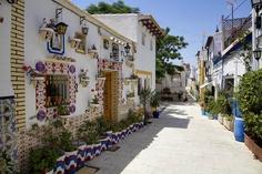 Barrio de Santa Cruz (Casco Antiguo) de Alicante