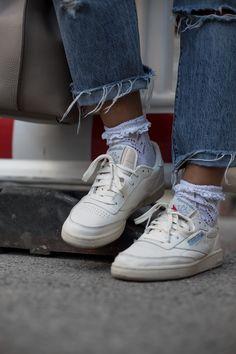 1c1f3ddefcb79a Back in stock  the  ReebokClassics Club C 85 Vintage Sneaker - SKU ...