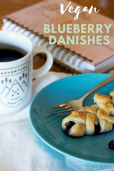 Vegan blueberry danishes  I put together a recipe for vegan blueberry danishes since they're easy to make, pack, and eat during summer adventures. But, as an added bonus, blueberries freeze really well – which means you can make this recipe anytime of the year! @bcblueberries #bcblueberries